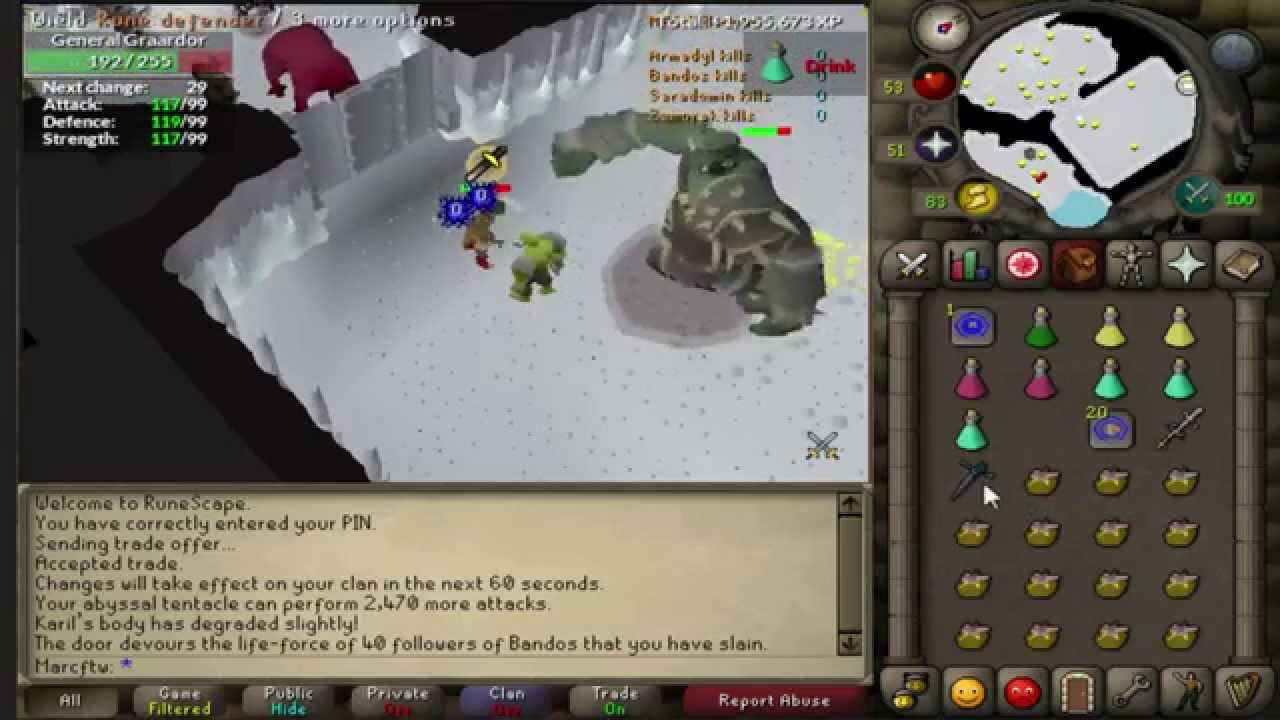 osrs bandos duo guide