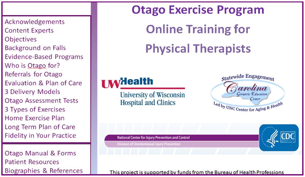 otago exercise program pdf