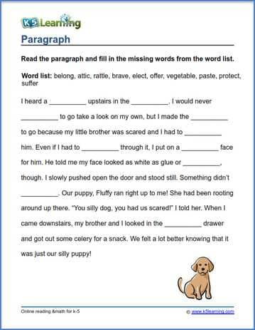 paragraph writing workbook pdf