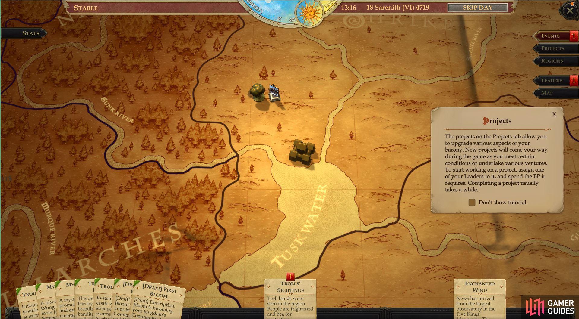 pathfinder kingmaker kingdom guide