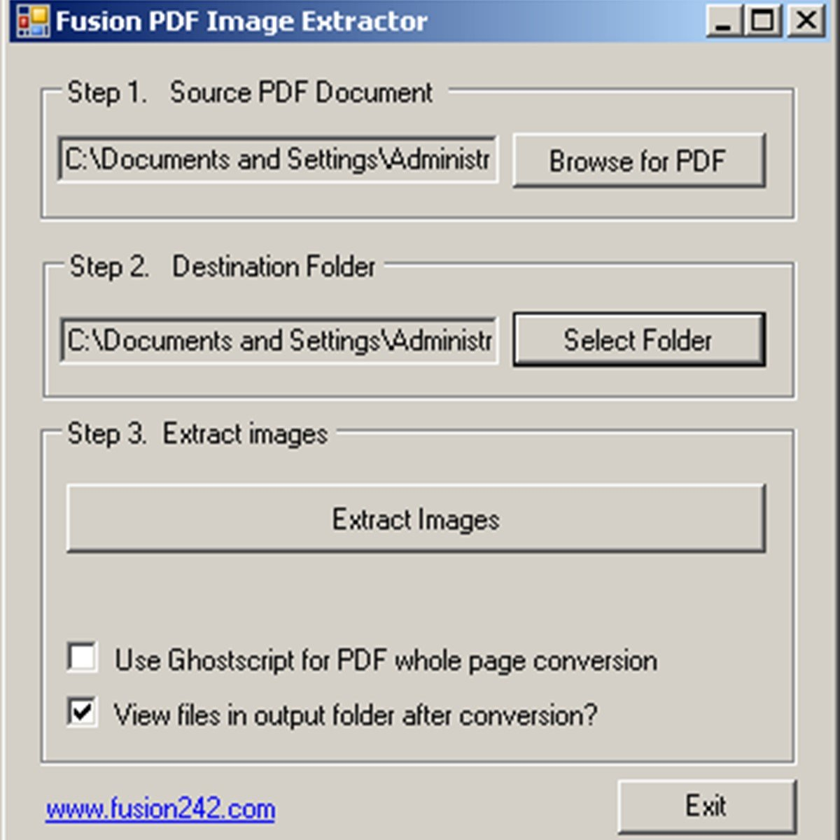 pdf extraction software