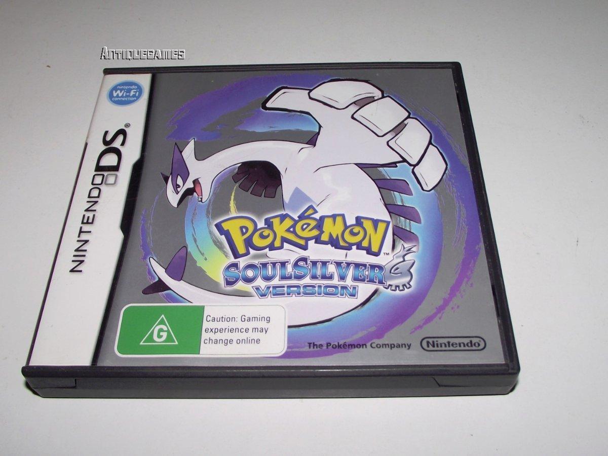 pokemon silver manual