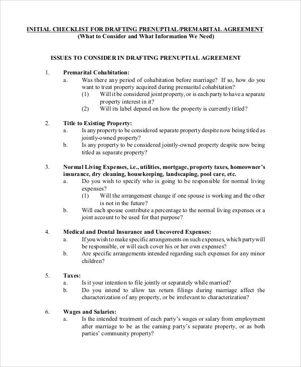 prenuptial agreement india pdf