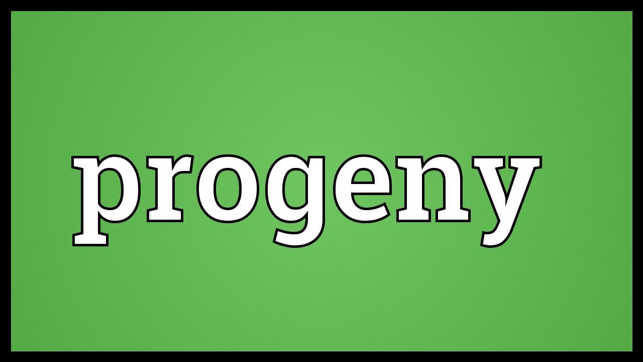 progeny synonym dictionary