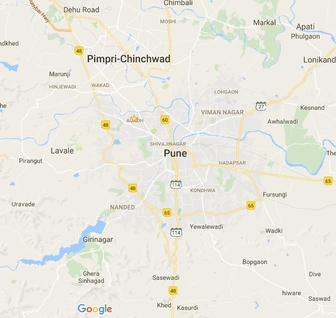 pune map pdf free download