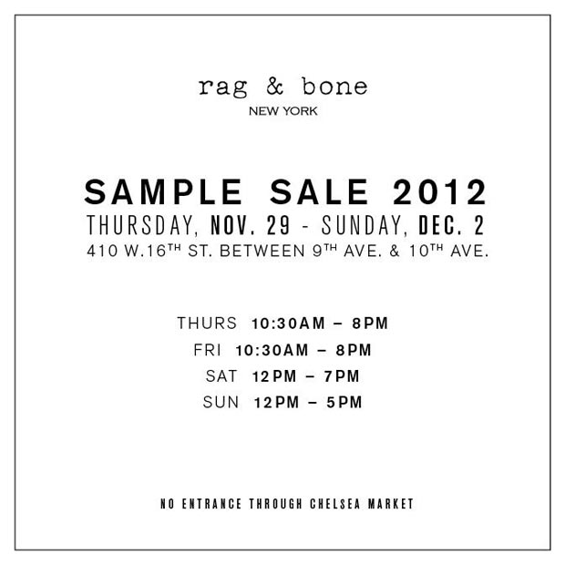 rag and bone bergamot sample