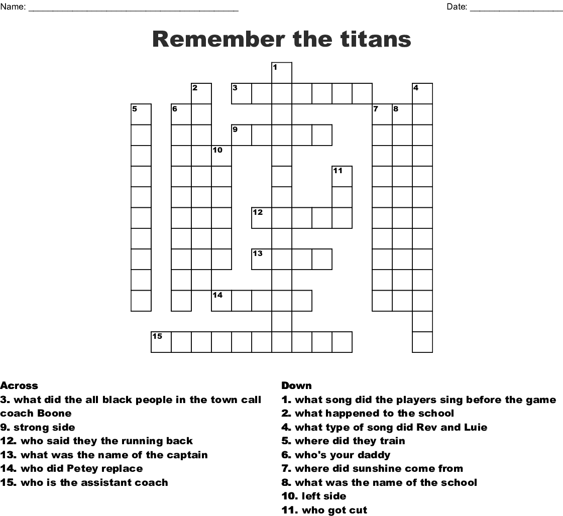 remember the titans pdf
