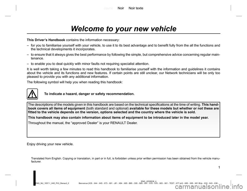renault koleos user manual