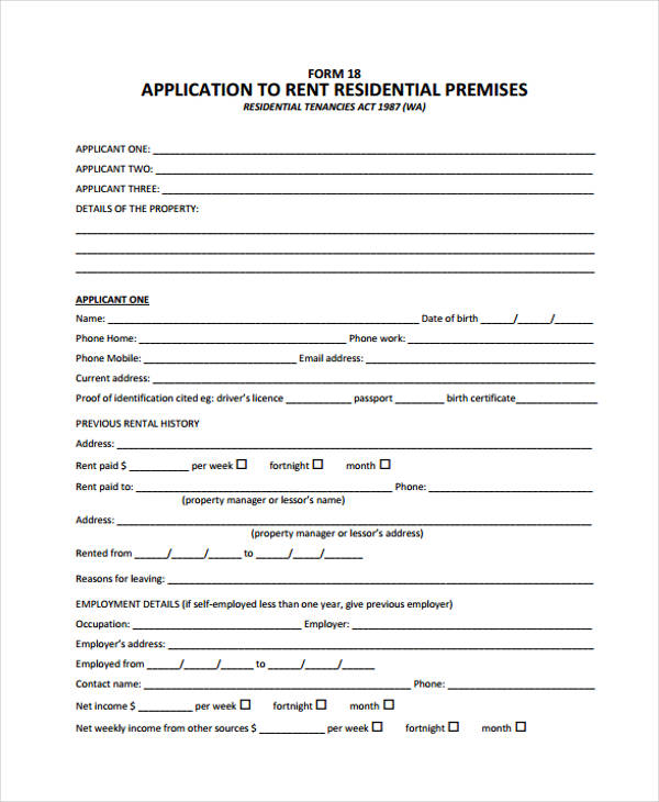 residential care subsidy application form nz
