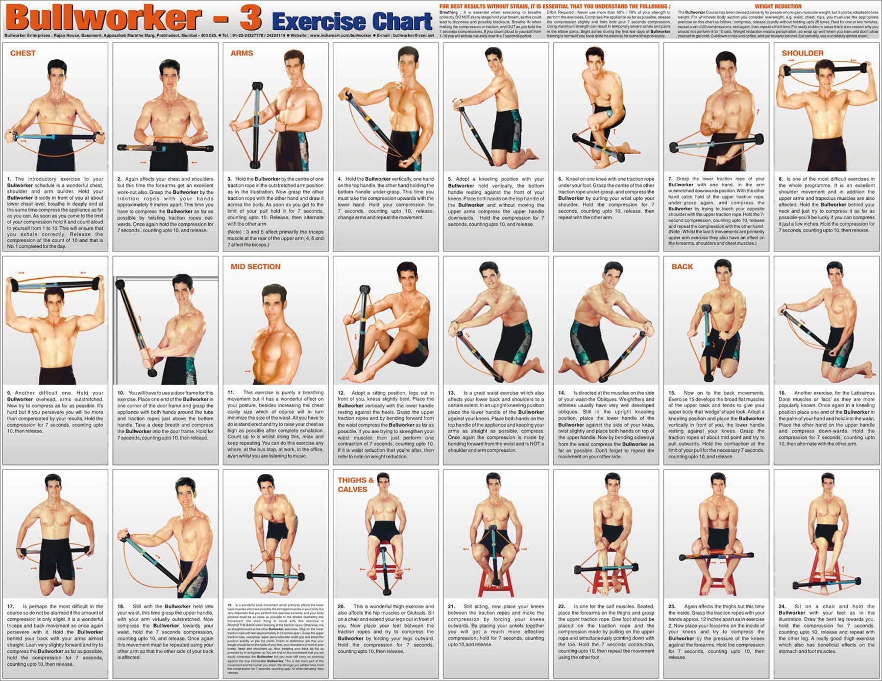 resistance tubing exercise chart pdf