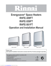 rinnai energysaver 431ftr user manual