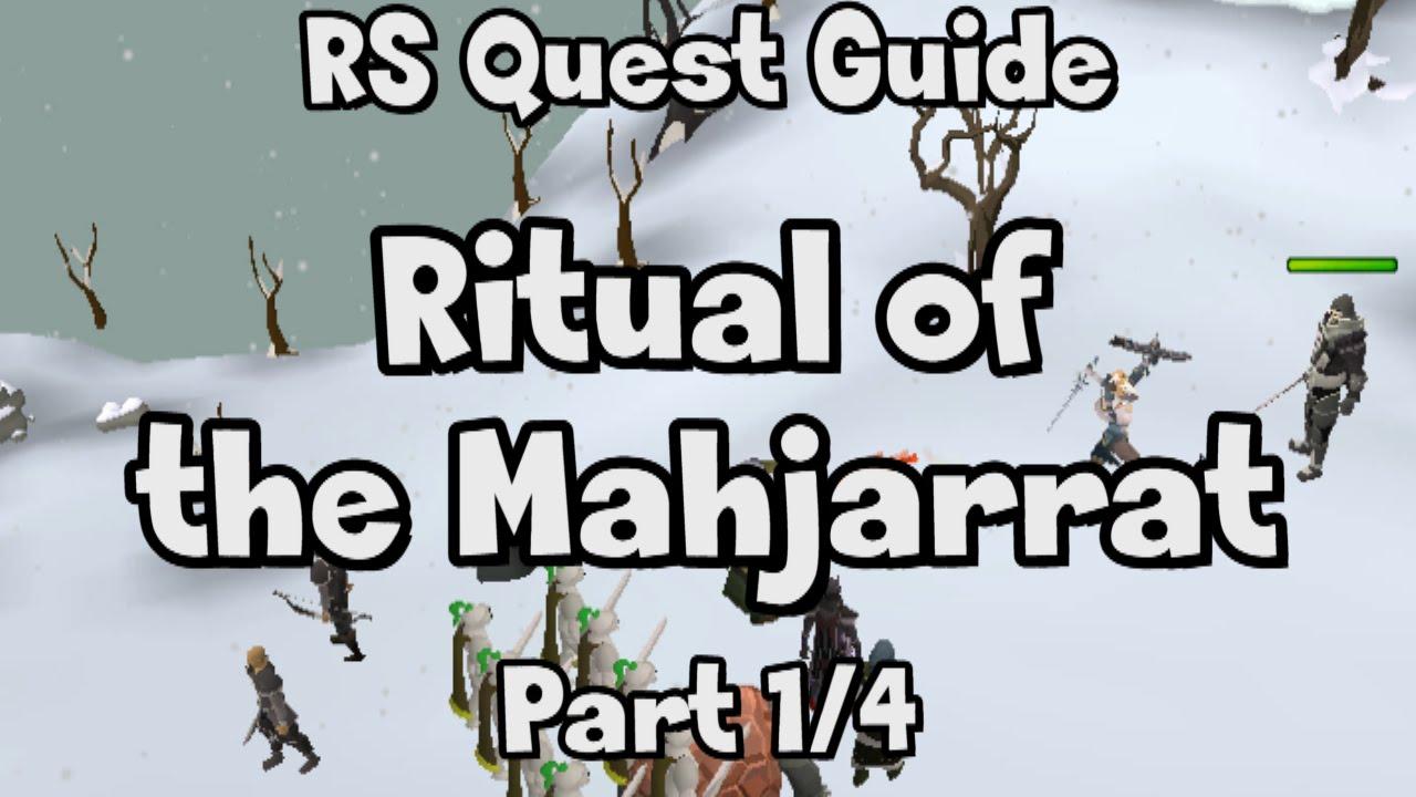ritual of the mahjarrat guide