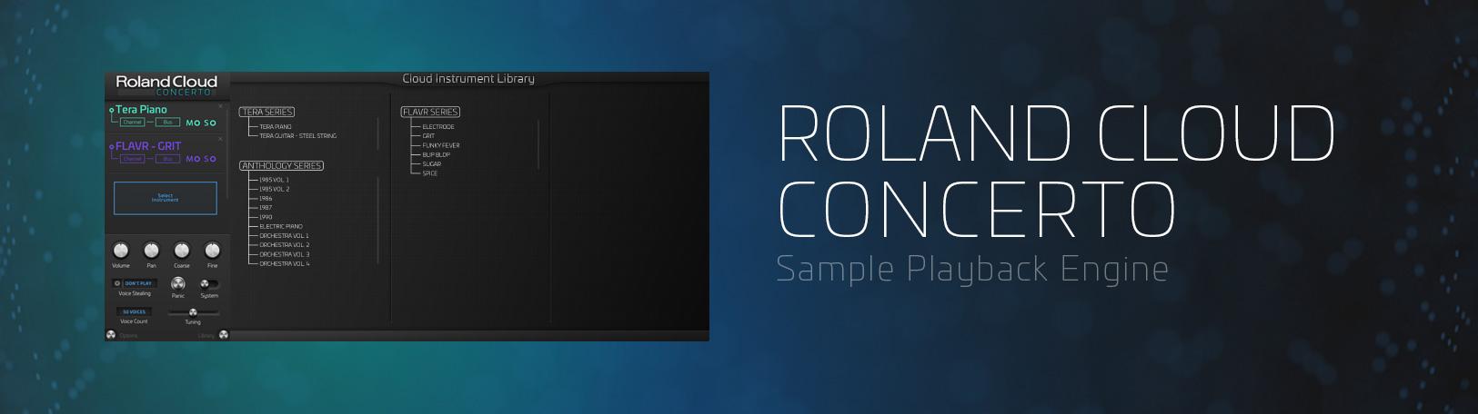 roland cloud concerto manual
