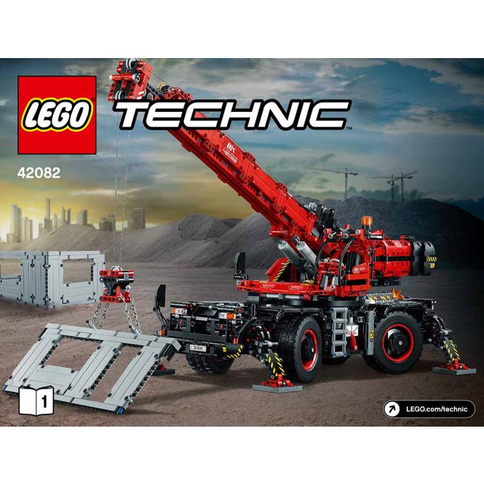 rough terrain crane instructions