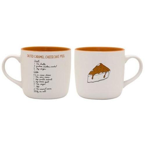 salted caramel cheesecake recipease mug instructions
