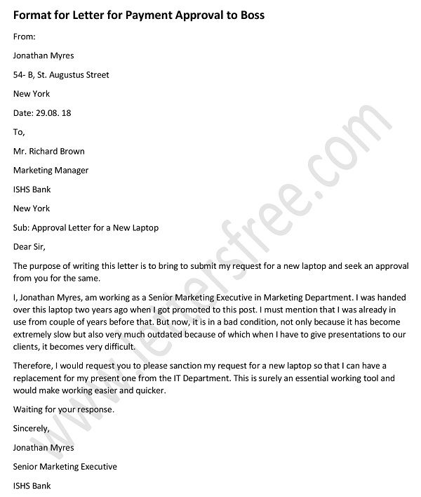 sample letter for vacation leave approval