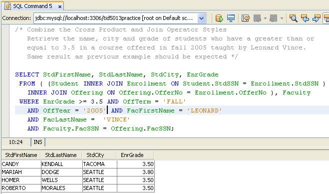 sample mysql database practice query exercises