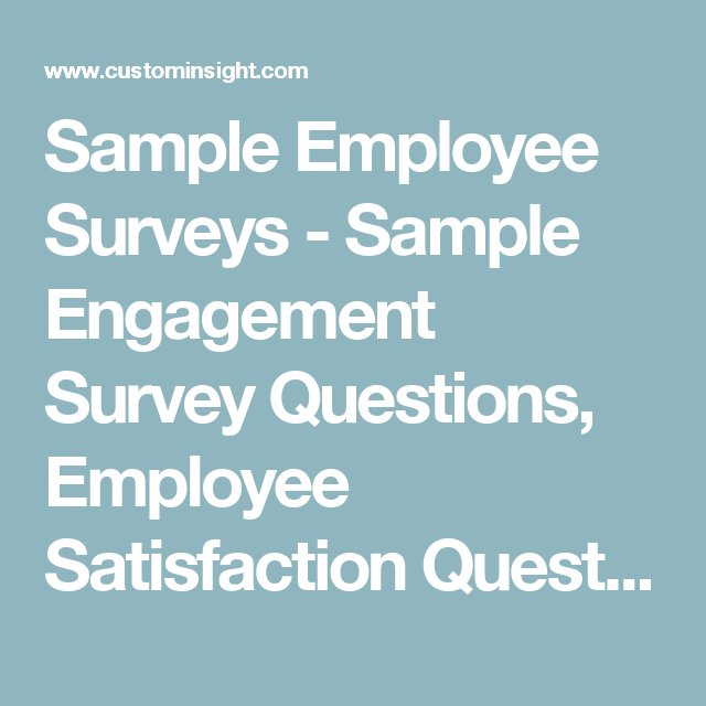 sample questionnaire on employee satisfaction in banks