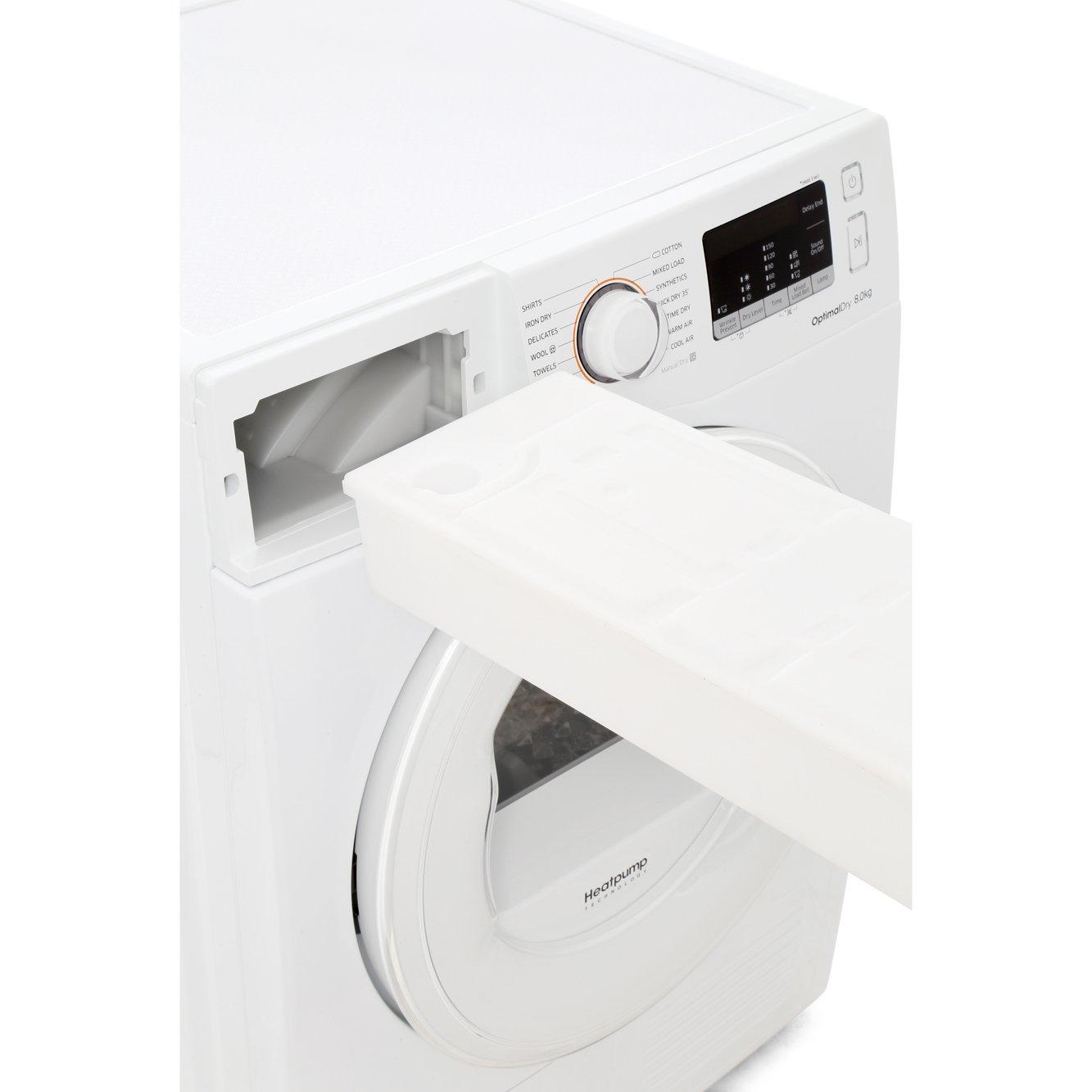 samsung heat pump dryer 8kg manual