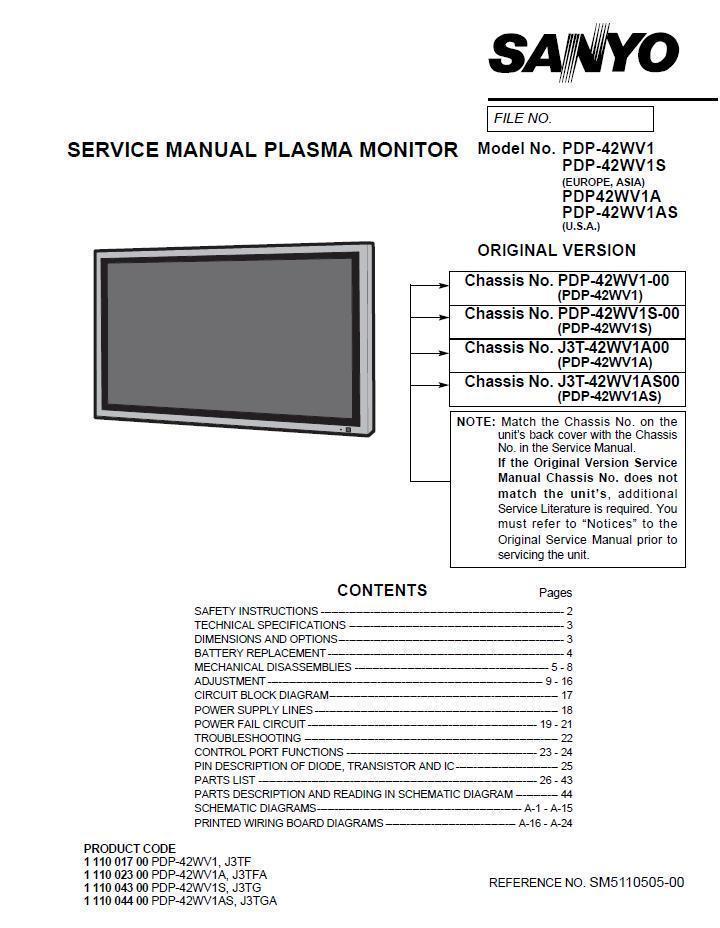 sanyo mcd-zx540f service manual