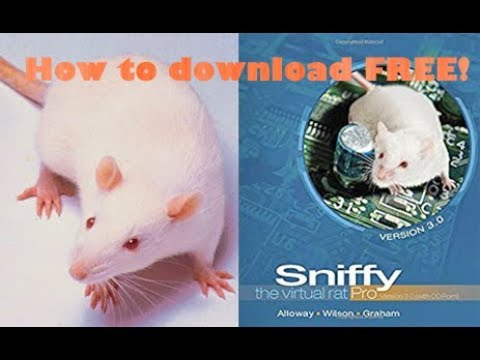 sniffy the rat classical conditioning instructions