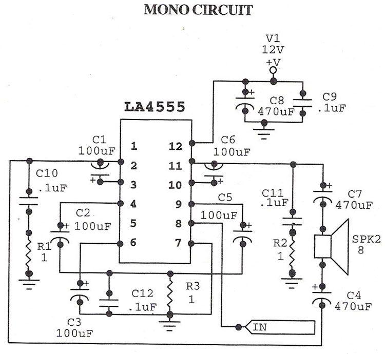 sound application line conditioner sa-1