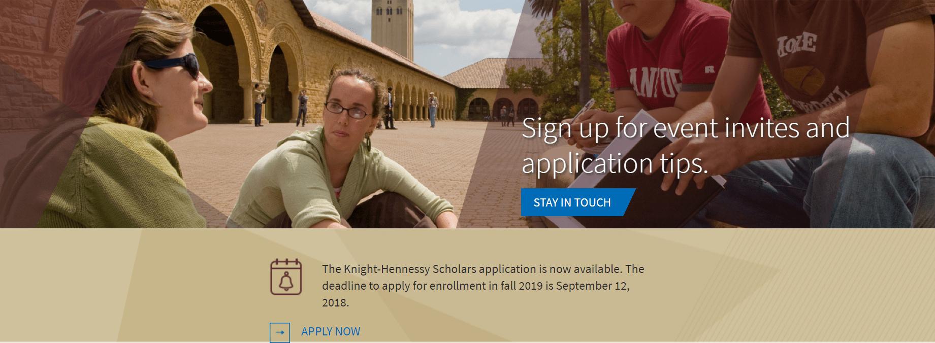 stanford graduate application deadline