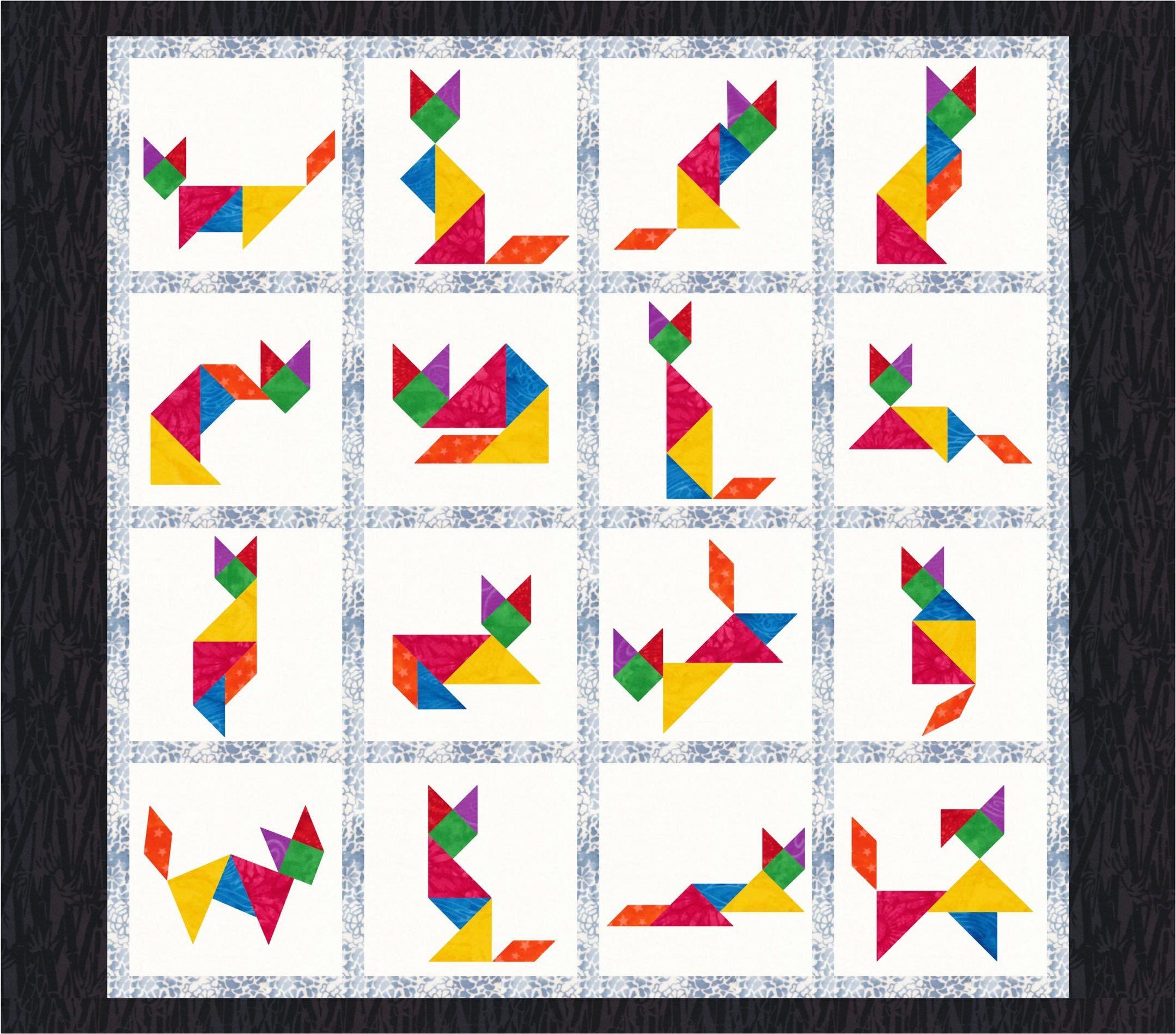 tangram template pdf