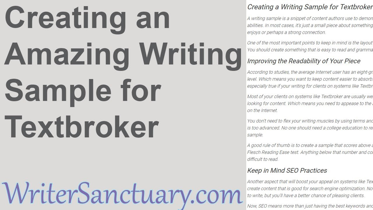 textbroker writing sample