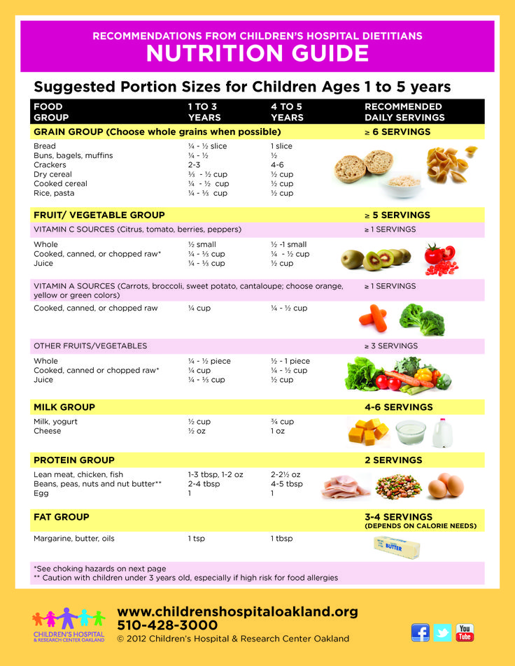 toddler nutrition guide