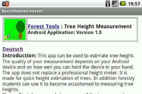 tree height measurement pdf