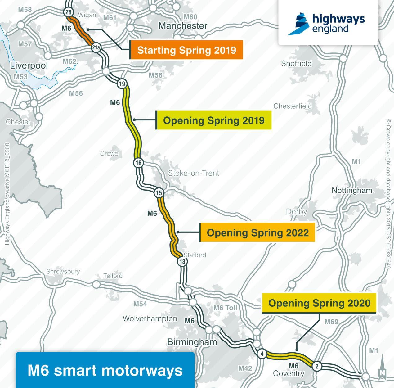 uk motorway map pdf