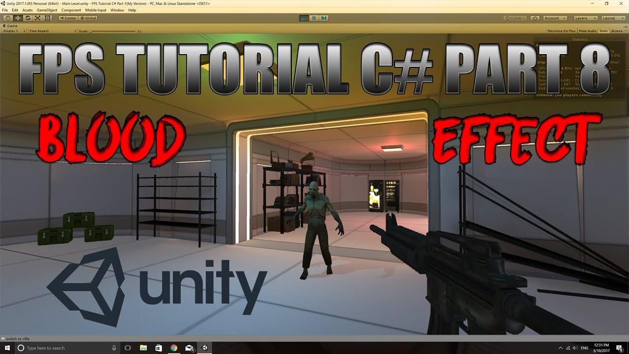 unity fps sample tutorial