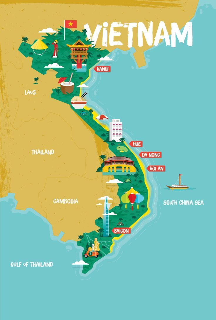 vietnam tourist map pdf