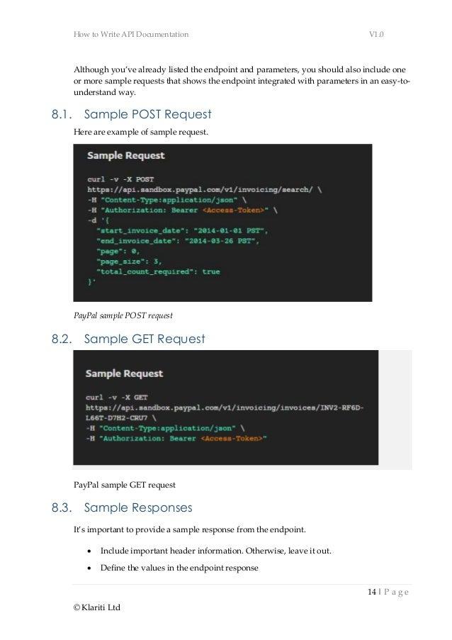 web api documentation