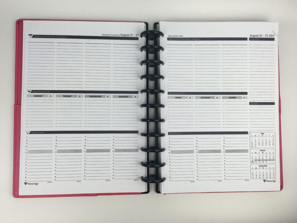 weekly action pad pdf