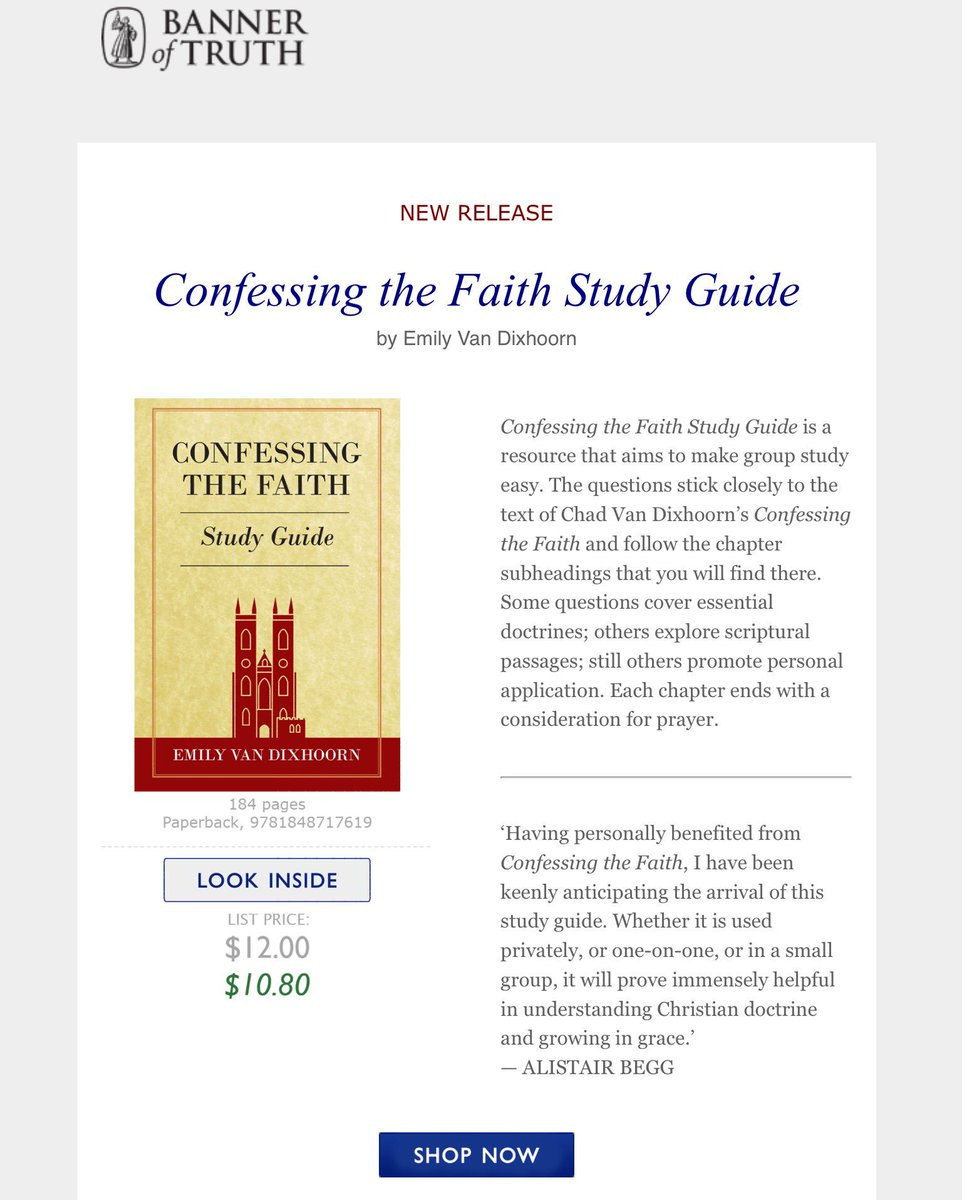 westminster confession of faith study guide