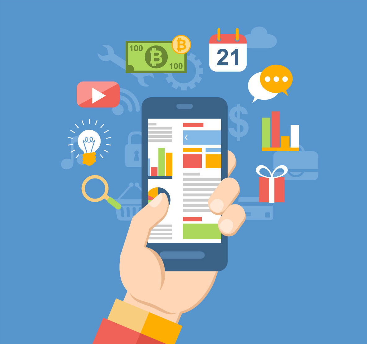 what is mobile application development