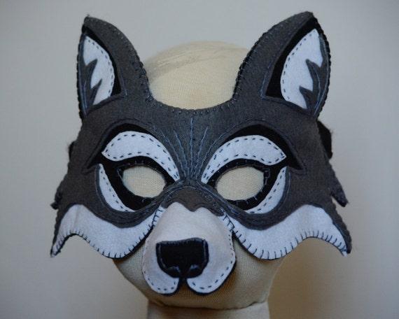 wolf mask template pdf